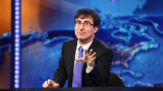 "John Oliver Says Goodbye To ""The Daily Show"""
