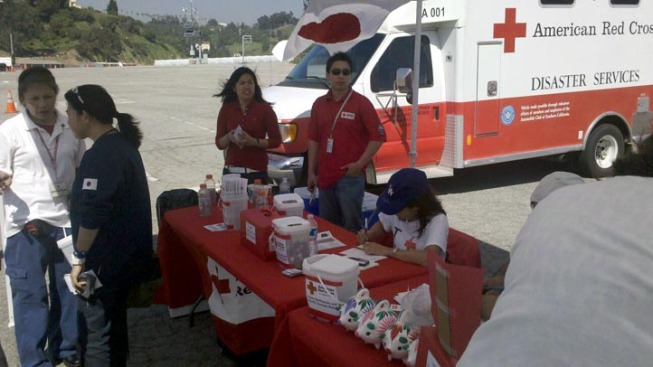 Relief Drive Held at Dodger Stadium