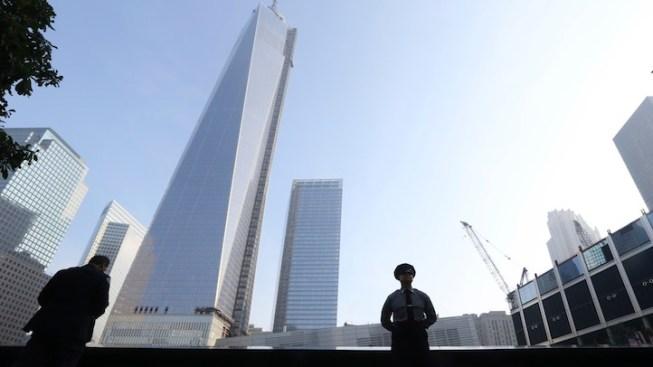 "Banksy Criticizes One World Trade Center Calling it a ""Shyscraper"""