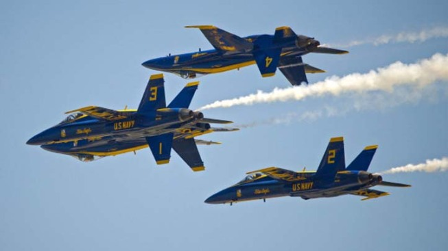 Budget Woes Ground Navy's Blue Angels