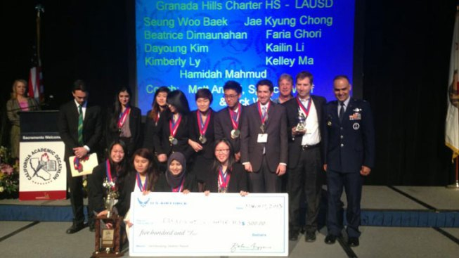 Granada Hills High Wins Third Consecutive California Academic Decathlon