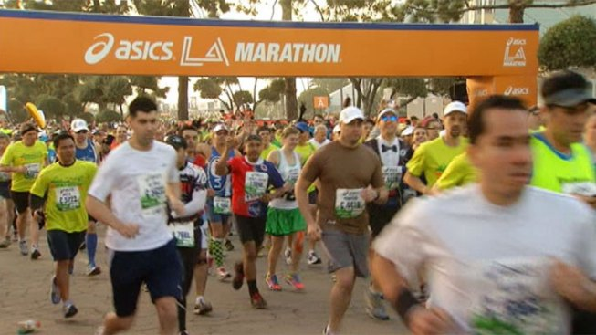 """Some 24,000 Runners Expected in """"Stadium to the Sea"""" Course for Los Angeles Marathon"""