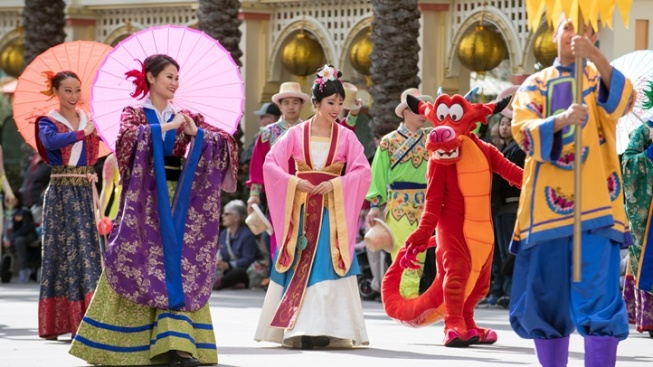 Lunar New Year Opens at Disney California Adventure