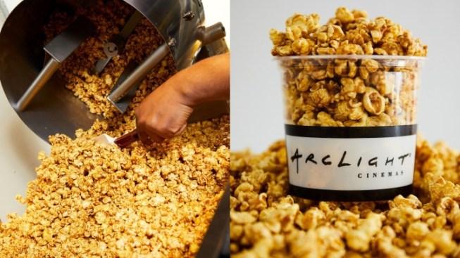 Summer's Popping for ArcLight Caramel Corn Lovers