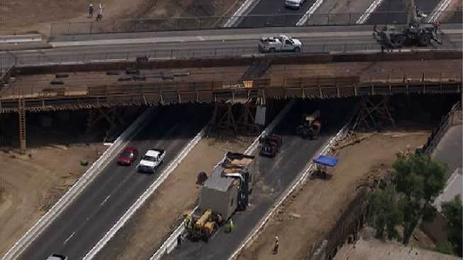 Southbound 215 Freeway Could Be Closed for 24 Hours in