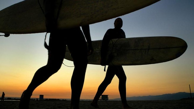 Surf's Up in Huntington Beach