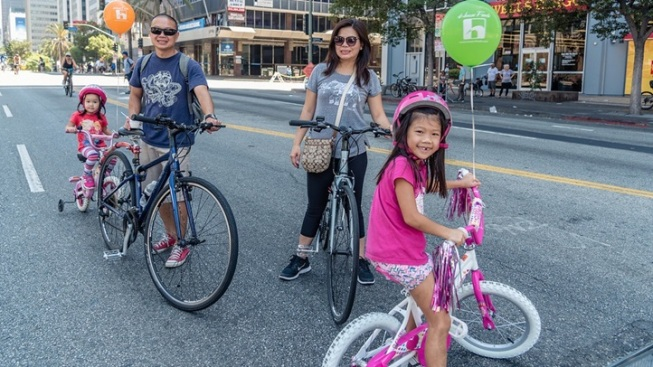 Weekend: CicLAvia's Heart of LA