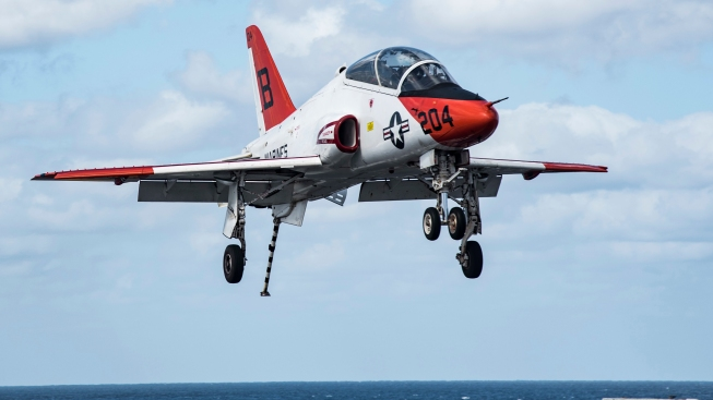 U.S. Navy to Lift Operation Pause for T-45C Fleet