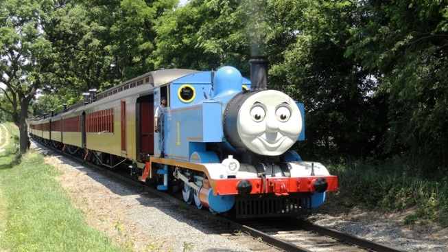 Thomas the Tank Engine Visits California