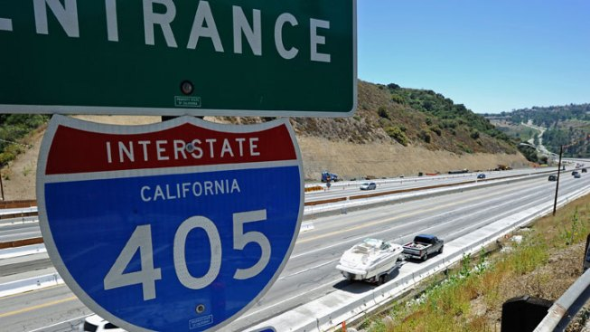 Southbound 405 to Close Saturday Night on Westside of LA