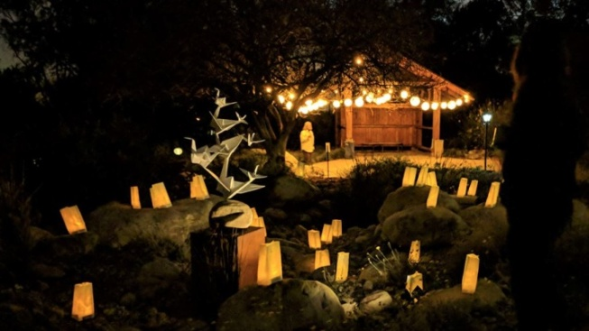 Luminarias to Glow, at Rancho Santa Ana Botanic Garden