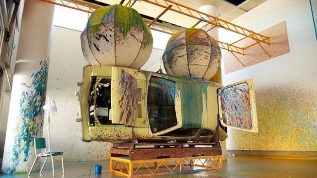 The Whimsical Painting Machine of Richard Jackson
