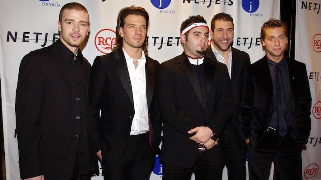 'N Sync Joins Twitter, Tweets About VMAs Rehearsal