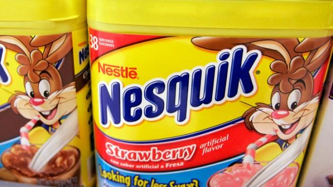 Nestle Recalls Nesquik Due to Salmonella Risk