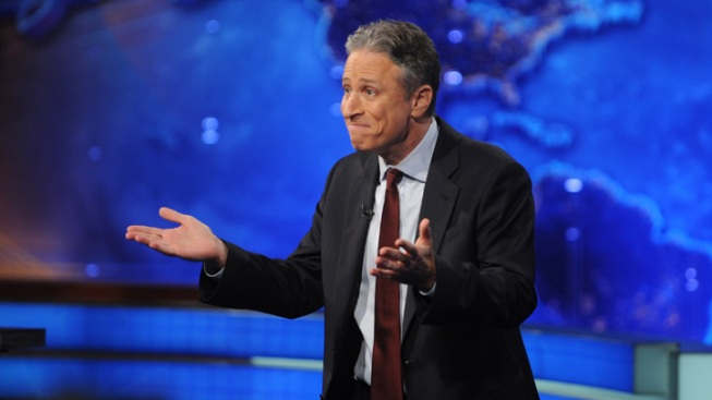 "Jon Stewart Applauds Obama's Gay Marriage ""Evolution"""
