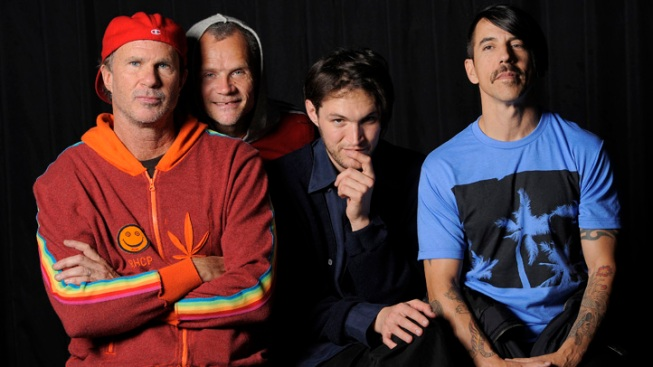 Red Hot Chili Peppers Headline Lollapalooza