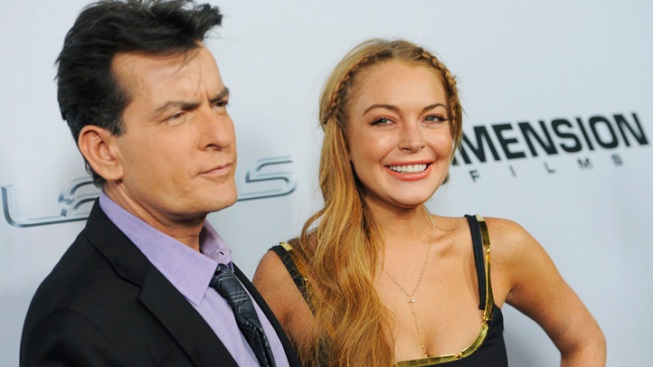 "Lohan Shows up Late for ""Scary Movie 5"" Premiere"