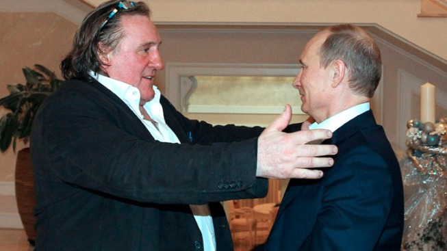 French Actor Depardieu Gets Russian Passport