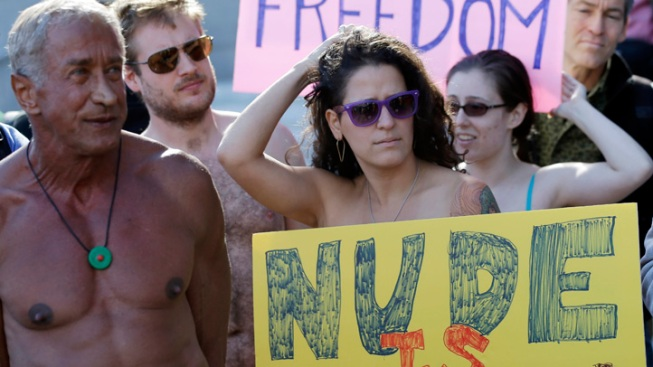 Judge Could Lift Nudity Ban