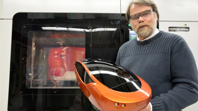 3D Printed Cars, Hot Off the Press