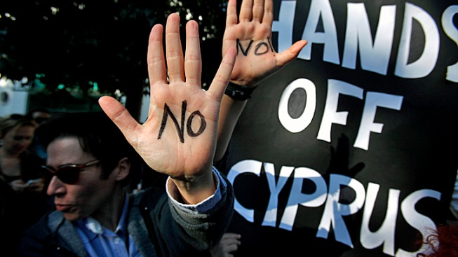 Cyprus Lawmakers Overwhelmingly Reject Unpopular Bank Levy