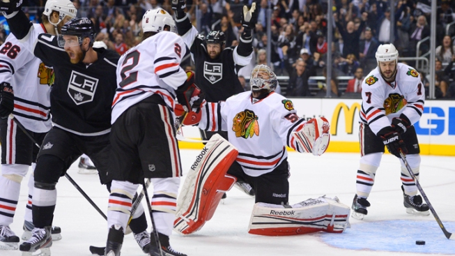 Defense, Speed Key if Kings Want to Knock Off Blackhawks