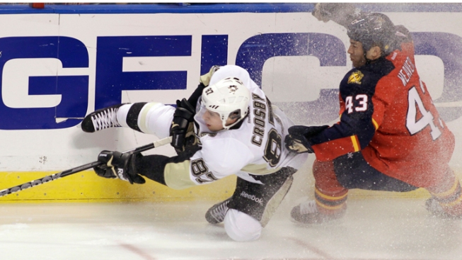 Penguins' Crosby Out for Penguins Playoff Opener