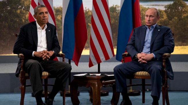 Obama Cancels Putin Meeting Over U.S.-Russia Tensions