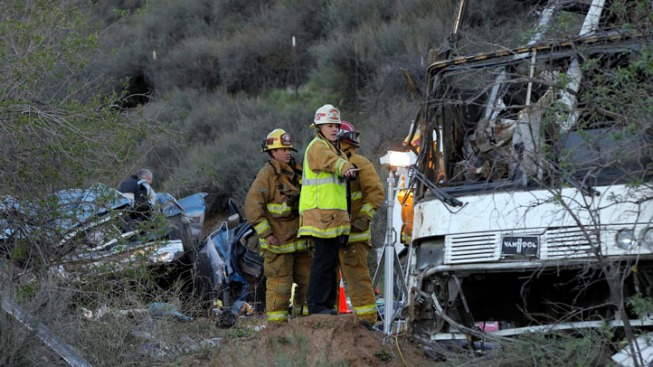 Eighth Victim, Pickup Driver, Dies After Tour Bus Crash