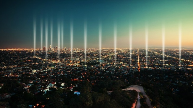 Night Dramatic: ASICS Lights LA Marathon Course