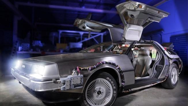 Petersen New: 'Back to the Future' DeLorean