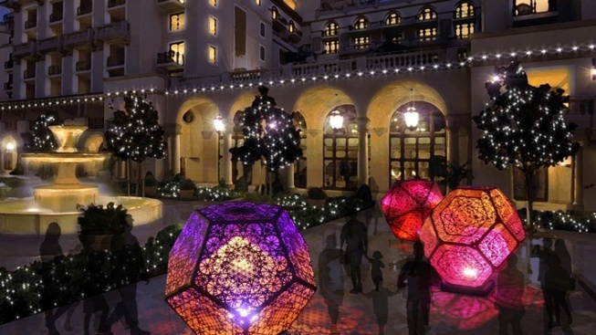 Get Your Glittery Golden Triangle Fun On at BOLD Holidays