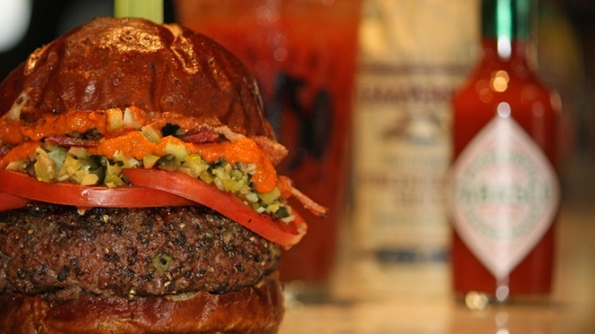 Meet the Bloody Mary Burger