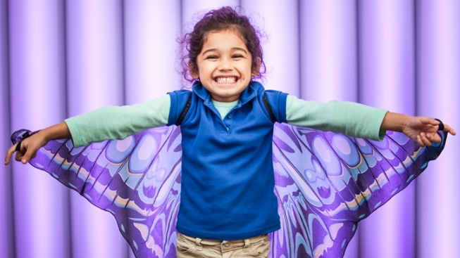 Flutter by as Butterfly Season Opens at Kidspace