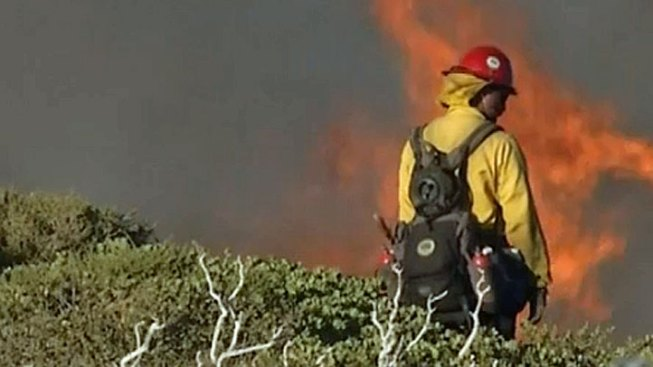 California Wildfires: Drone Almost Blocks Firefighting Planes