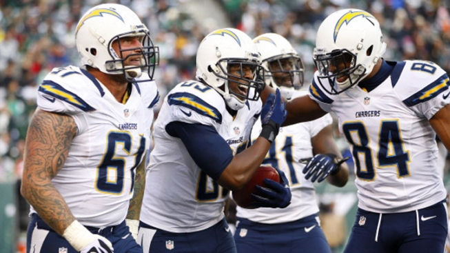 Chargers Sack Jets' McElroy 11 Times in 27-17 Win