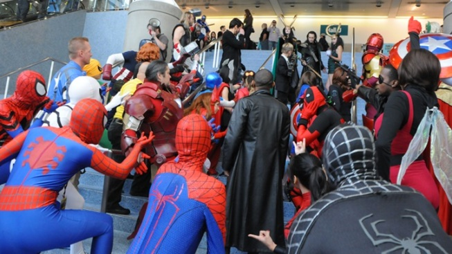 Spidey(s) to the Rescue: Stan Lee's Comikaze