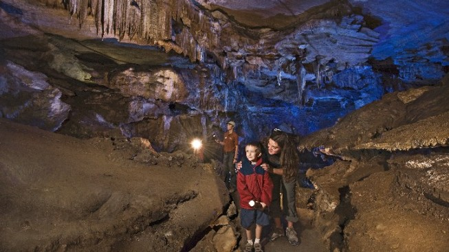 Opening: Crystal Cave at Sequoia National Park