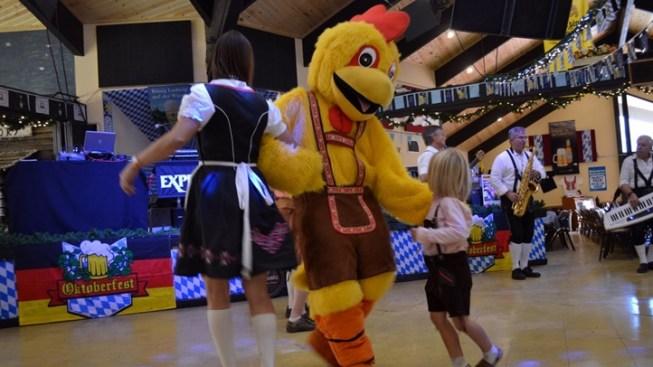 Big Bear Lake Oktoberfest: Dancing this Way