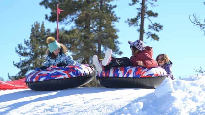 Conditions Are 'Epic' at Snow Play