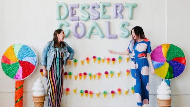 Dessert Goals to Now Delicious-up Two Weekends