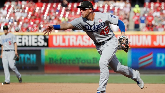 Dodgers' Streak Ends With 4-0 Reds Win