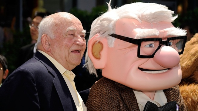 You and Ed Asner, Just Lunchin' Together