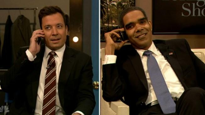 Fake Obama Calls Fallon After Leno Appearance