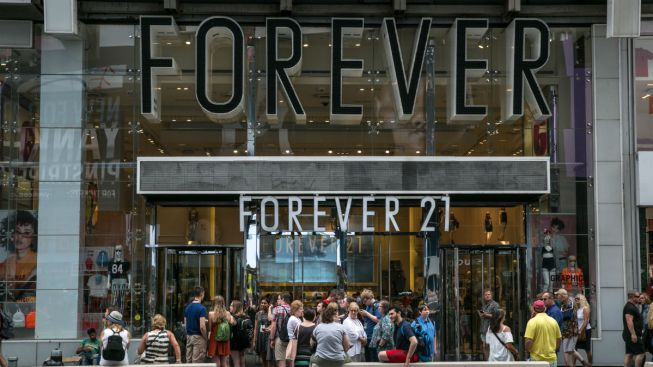 Forever 21 Fashion Chain Files for Chapter 11 Bankruptcy
