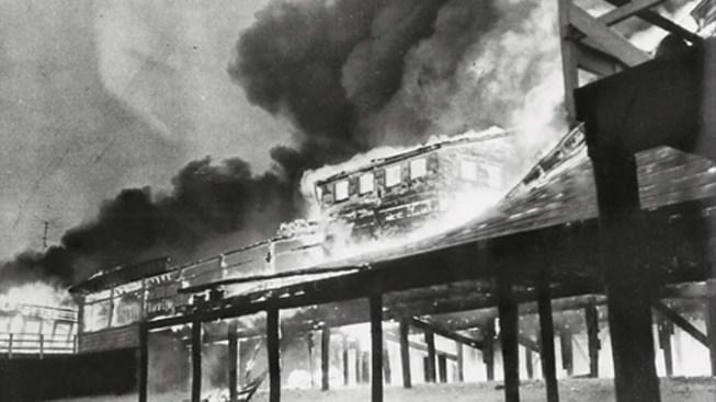 Boardwalk Fire Brings Back Memories of Devastating Seaside Blaze Nearly 60 Years Ago