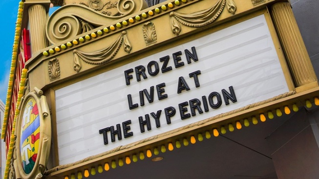 On Stage in Anaheim: 'Frozen'