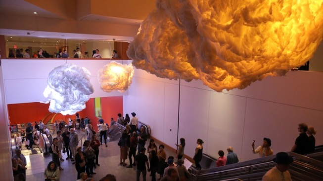 'Nimbus': Clouds Inside Walt Disney Concert Hall