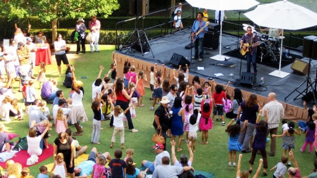 Free Getty Center Kid Concerts