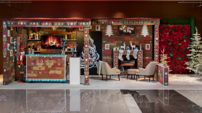 There's a Ginormous Gingerbread Bar in DTLA